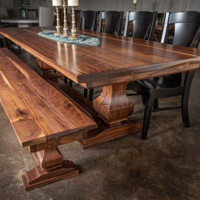 Rustic Elements Furniture - Walnut Anchor