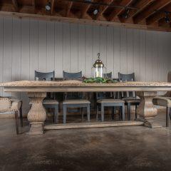 Rustic Elements Furniture - Large Belly Pedestal