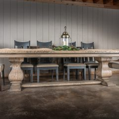Rustic Elements Furniture - Large Belly Table
