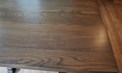 Ash in Old Manor with Black Shadow and Satin Finish