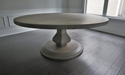 Belly Pedestal with Round Base