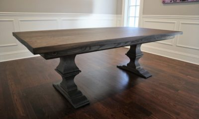 Medium Franklin Pedestal on 7.5' Table