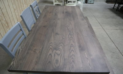 Ash in Smokey Water with Flat Finish