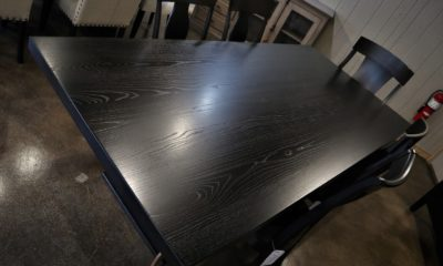 Ash in Black Espresso with Satin Finish