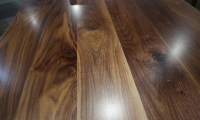 Natural Walnut with Satin Finish