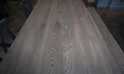 Ash in Smokey Water and Flat Finish