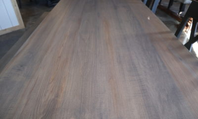 Hard Maple in Classic Gray and Flat Finish