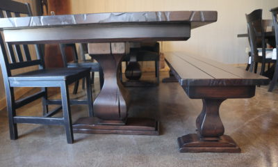 Thick Table Top with Standard Top Bench
