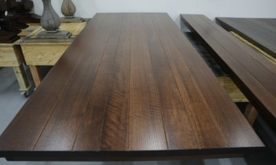 Quarter Sawn Red Oak in Traditional Brown and Satin Finish