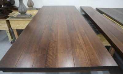 Quarter Sawn Red Oak in Traditional Brown Medium and Satin Finish