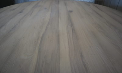 Ash in a Whitewash with Flat Finish