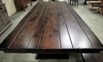 Hickory in American Brown with Satin Finish
