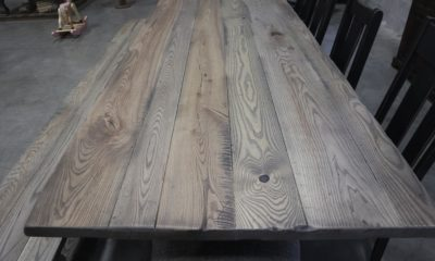Ash in Prado with Black Shadow and Flat Finish