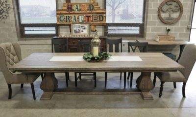 Large Belly Pedestal on 10' Table