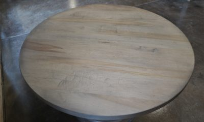 Hard Maple in Prado with Black Shadow and Flat Finish