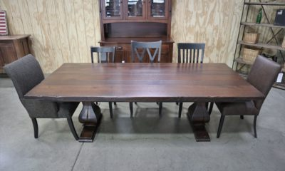 Medium Belly Pedestal on 8' Table