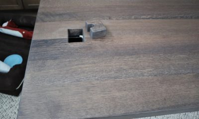 Quarter Sawn White Oak in Winter Brown (Dark) with Flat Finish