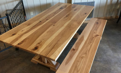 Natural Hickory in Satin Finish
