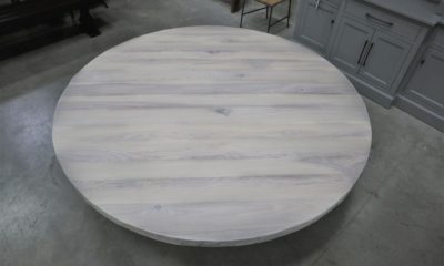 Ash in Whitewash with Flat Finish