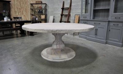 Anchor Pedestal with Round Base