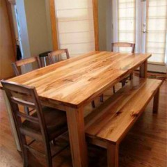 rustic elements furniture traditional wood table