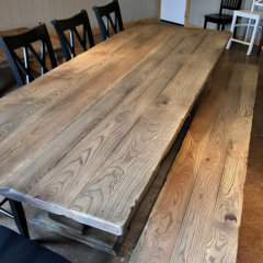 belly pedestal table