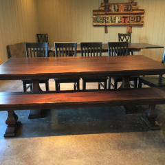 traditional hickory dining table