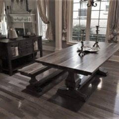 custom wood table