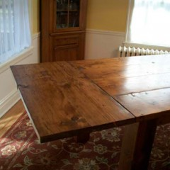 "24"" wood dining table leaf"