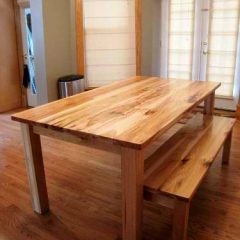 traditional wood dining table