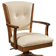 Rustic Elements Furniture - Lansfield Desk Chair