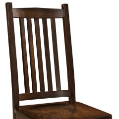 Rustic Elements Furniture - Mission Side Chair