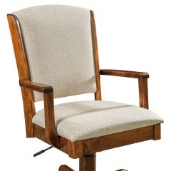 Rustic Elements Furniture - orris Arm Desk Chair