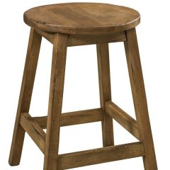 Rustic Elements Furniture - Oakley Stationary Bar Stool