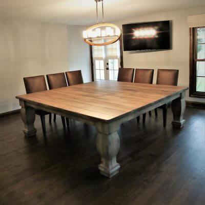 custom dining table