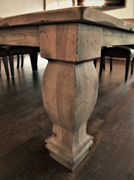 custom table legs