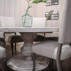 Rustic Elements Furniture - Round Anchor Pedestal