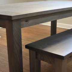 Rustic Elements Furniture Four-Leg Table