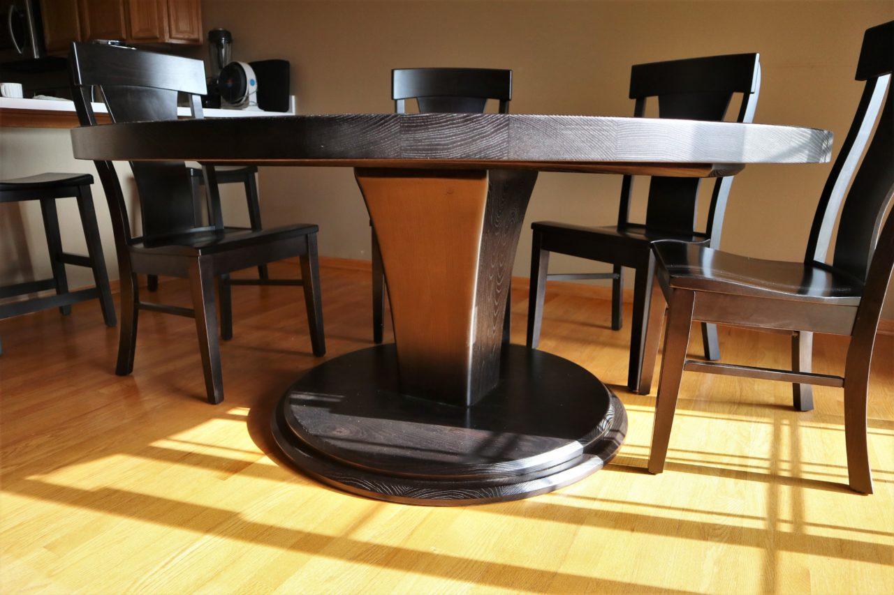 round tables joliet il rustic elements furniture. Black Bedroom Furniture Sets. Home Design Ideas