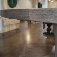 Rustic Elements Furniture - Meredith Pedestal table