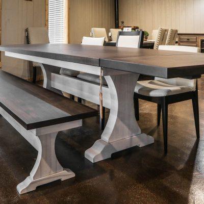 Rustic Elements Furniture - Craftsman Pedestal