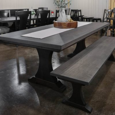 Rustic Elements Furniture - Craftsman Pedestal