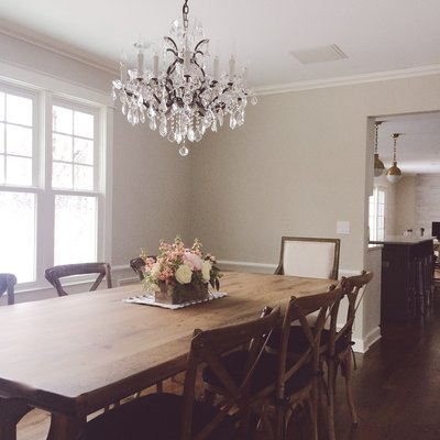 Rustic Elements Furniture Dining Room Table