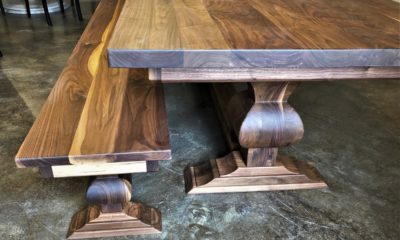 Edison Pedestal Table