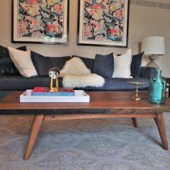 Eco-Friendly Walnut Slab Coffee Table-Rustic Elements Furniture