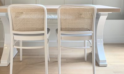 Solid white base, whitewash top - design trends