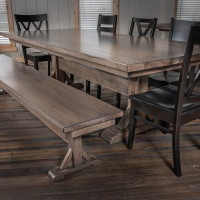 Rustic Elements Furniture - Tamara Pedestal Table