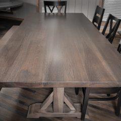 Rustic Elements Furniture - Tamara Pedestal Table