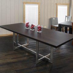 Rustic Elements Furniture - Reflection Pedestal Table