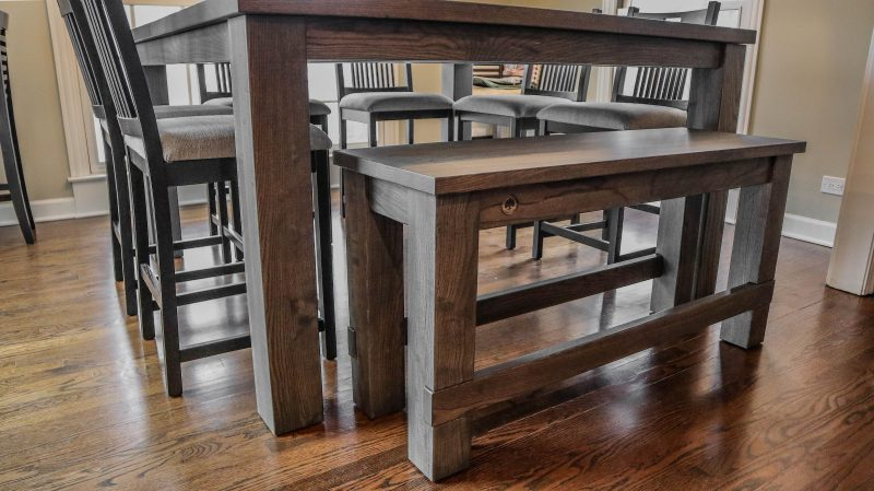 Rustic Elements Furniture Counter-Height Table